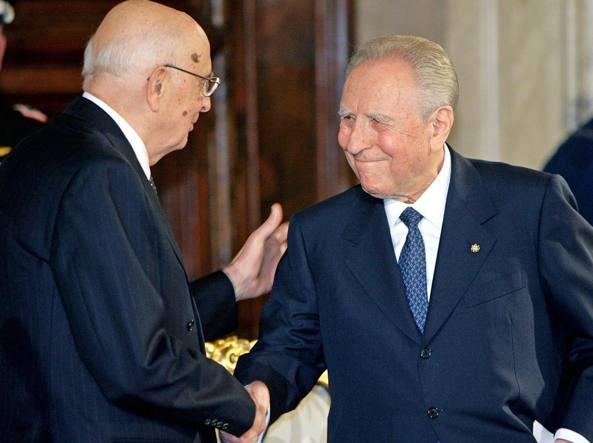 Napolitano eletto Presidente della Repubblica