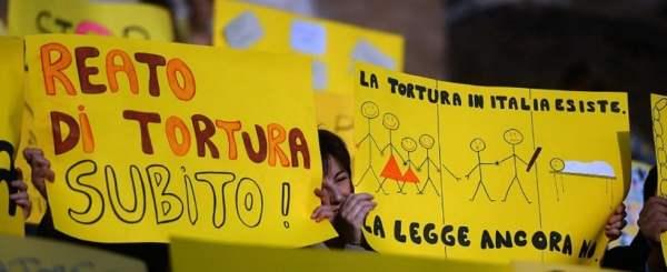 Ddl reato di tortura: è legge