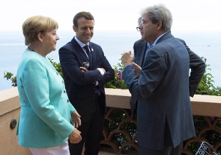 Vertice Gentiloni-Merkel-Macron: su migranti serve politica condivisa