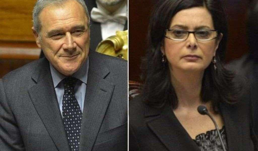 Grasso e Boldrini nuovi presidenti delle Camere
