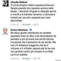 Enrico Mentana battezza i webeti