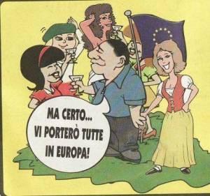 Tutti in Europa con Berlusconi