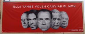 """""""Anche loro vogliono cambiare il mondo"""". La campagna dei socialisti catalani per le europee"""