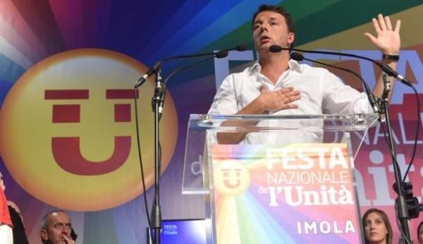 Matteo Renzi chiude la Festa Pd di Imola