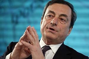 Draghi al vertice della Bce