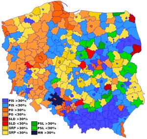 Polonia, vincono i conservatori