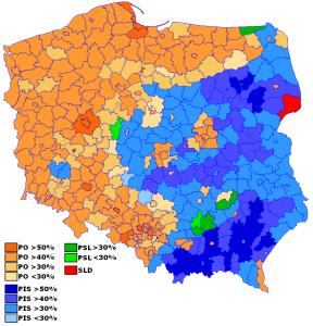 Polonia, Tusk ha la maggioranza