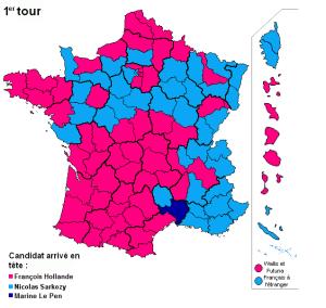 Francia, Hollande vince al primo turno. Sarkozy insegue