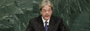 Gentiloni all'Onu