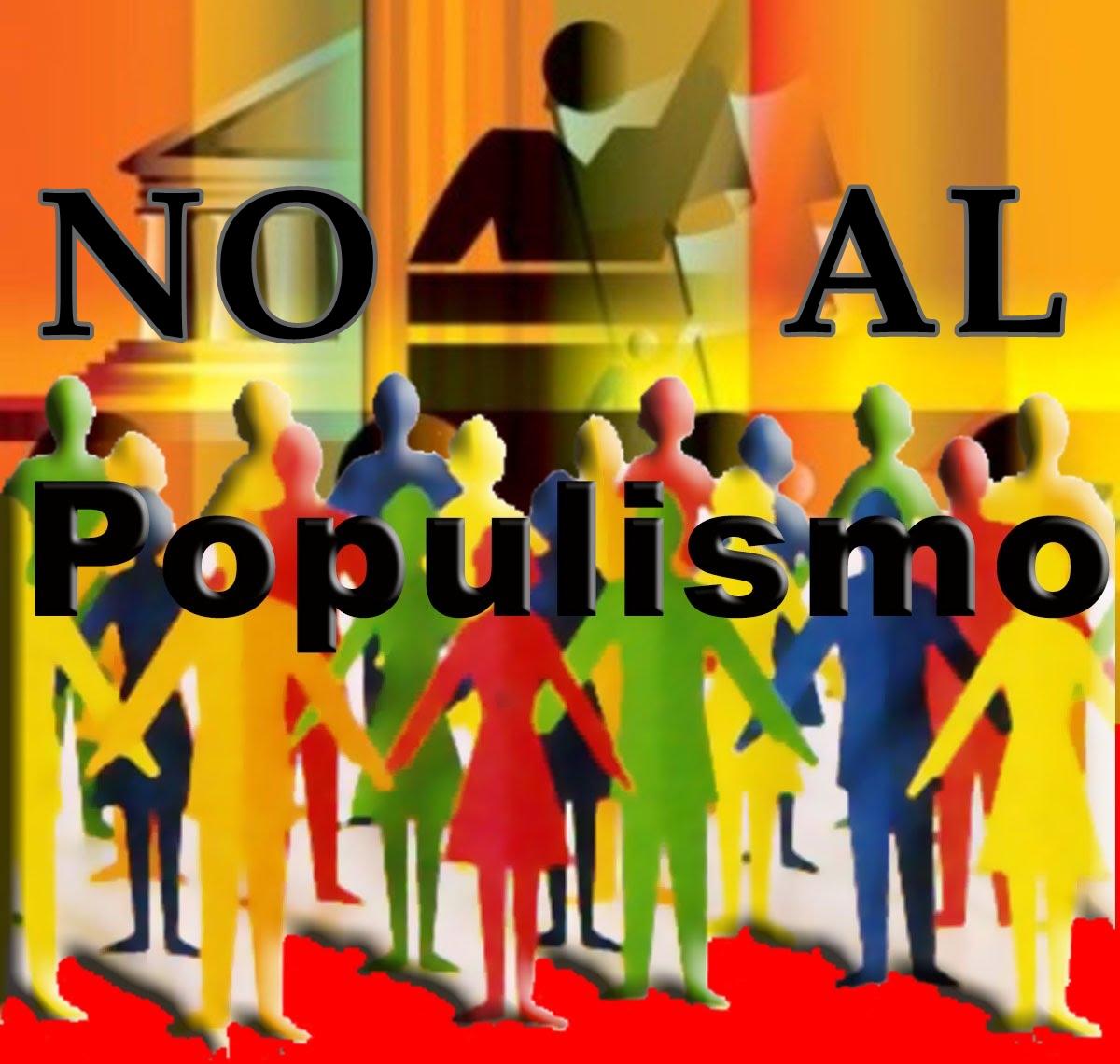 No al populismo