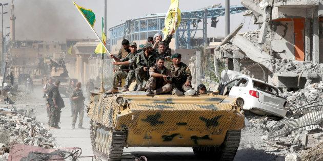Raqqa è mpresa. Daesh è davvfero sconfitta