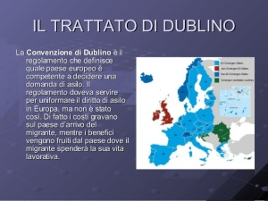 Verso la variazione dell'accordo di Dublino