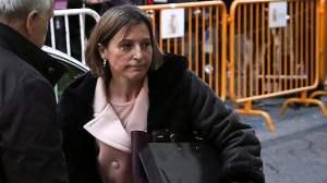 Catalogna, arrestata presidente del Parlamento