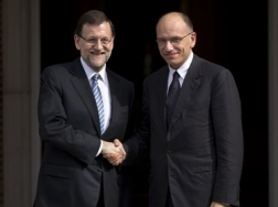 Letta incontra Rajoy