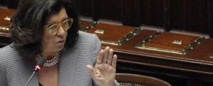 Relazione annuale del ministro Severinosullo stato della giustizia in Italia