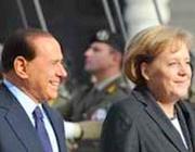 Berlusconi fa «cucù» alla Merkel