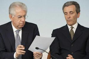 Governo Monti: ottavo mese
