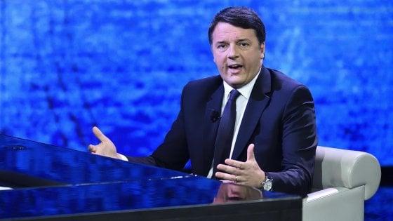 """L'affondo di Renzi su Grasso: """"Comanderà D'Alema, votarli è un favore a Salvini e Berlusconi"""""""