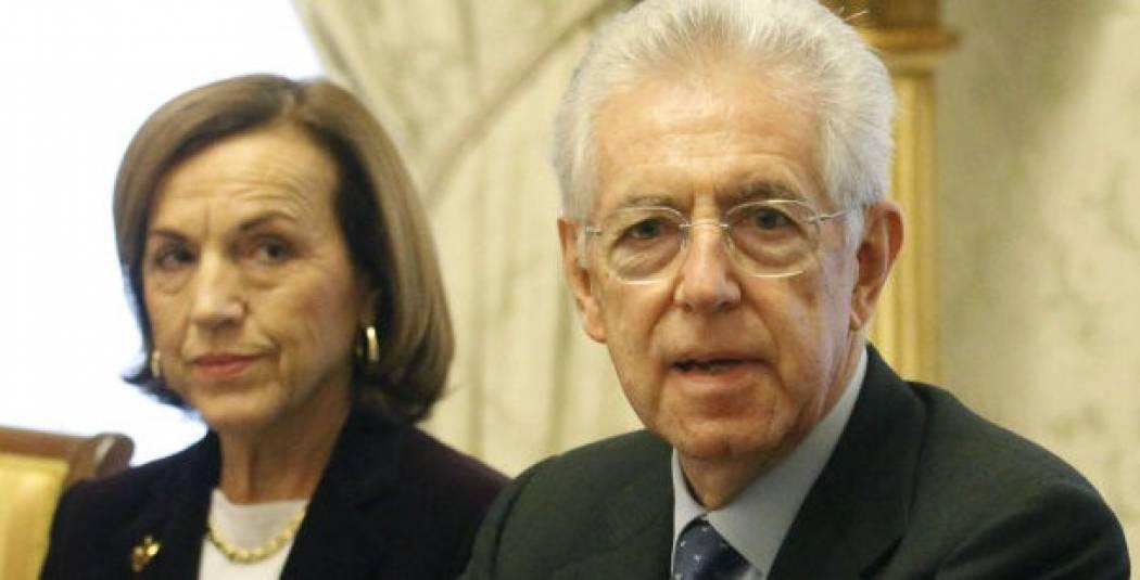 Monti e Fornero fanno dietrofront sull'articolo 18