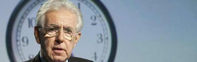 """Monti incontra i centristi: """"No partito. Lista unica al Senato, coalizione alla Camera"""""""