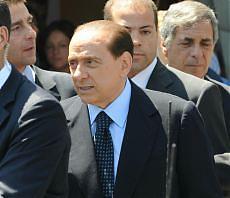 Berlusconi arrivato alla Casa Bianca