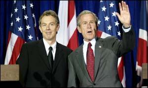 Bush e Blair sapevano che Saddam non aveva armi di sterminio.