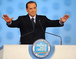 Congresso Pdl, Berlusconi presidente