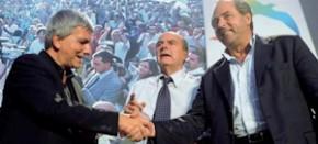 """Di Pietro: """"L'elettorato vuole un'alleanza tra Idv, Pd e Sel"""""""