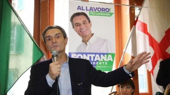 """Elezioni, bufera su Attilio Fontana per la """"razza bianca""""."""