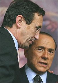 Fini-Berlusconi a pranzo tra ultimatum e minacce