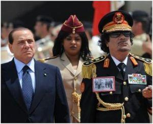 Gheddafi a Roma trattato come un imperatore