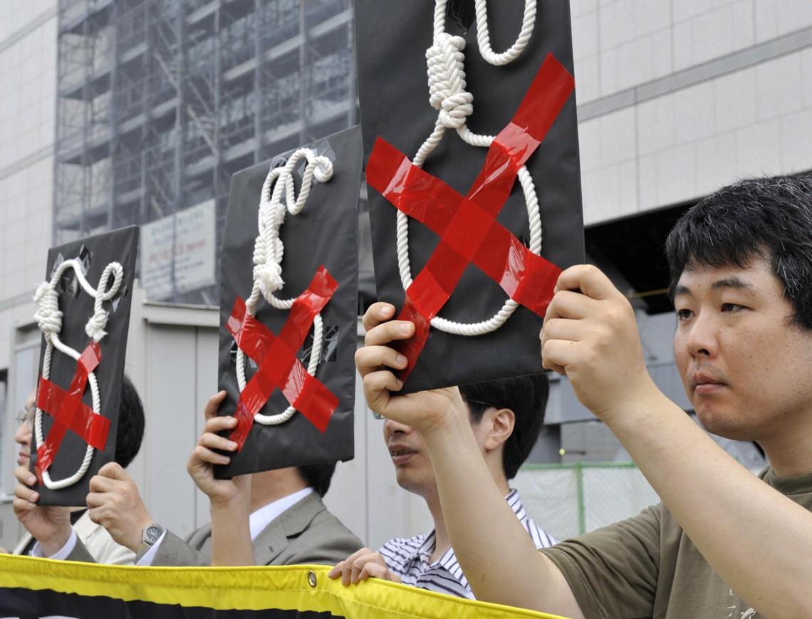 Giappone, ritorno alla pena di morte
