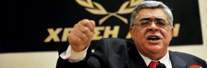 Grecia, arrestato il leader del partito neonazista Alba dorata
