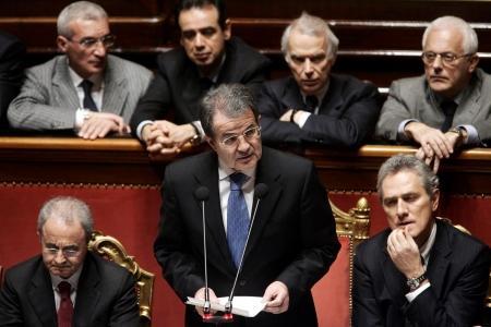 Il governo Prodi ottiene la fiducia al Senato