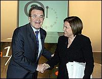 """L'Annunziata incalza anche Prodi. Lui s'arrabbia: """"Ma non me ne vado"""""""