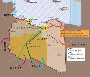 Libia lo scenario della crisi