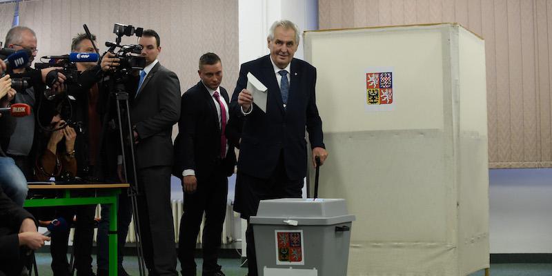 Miloš Zeman ha vinto le elezioni presidenziali in Repubblica Ceca