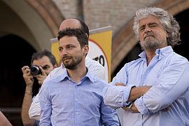 Movimento 5 Stelle, Grillo caccia Giovanni Favia
