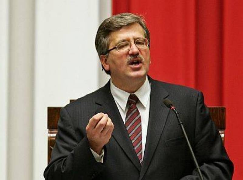 Polonia: Komorowski eletto presidente