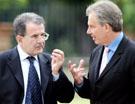 Prodi a Blair: «I militari italiani lasceranno l'Iraq»