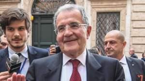 """Prodi: """"Voterò per il 1centrosinistra, chi è fuori dalla coalizione non è per l'unità"""""""