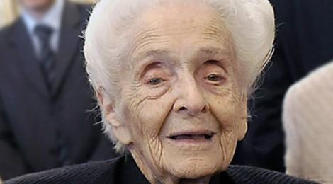 Rita Levi Montalcini d'accordo con Mussi