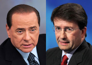 Scontro Berlusconi-Franceschini Cattocomunista. Clericofascista