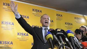 Slovacchia, Kiska eletto presidente