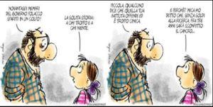 """""""Vignetta sull'Unità: vogliono Berlusconi morto"""""""