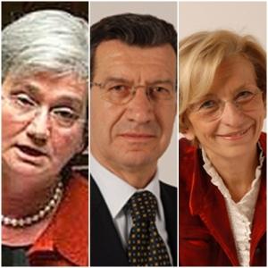 Bindi, Chiti e Bonino eletti alla vicepresidenza dei due rami del Parlamento si dimettono un giorno prima