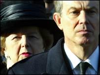Blair evita la fine della Thatcher