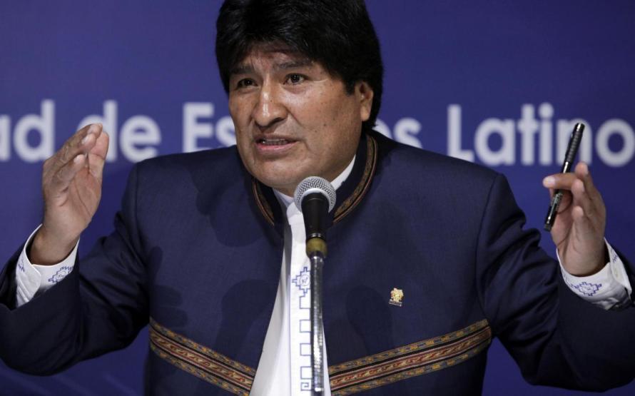 Bolivia, Morales rieletto