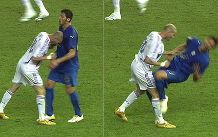 Caso Zidane: ricostruito lo scontro con Materazzi