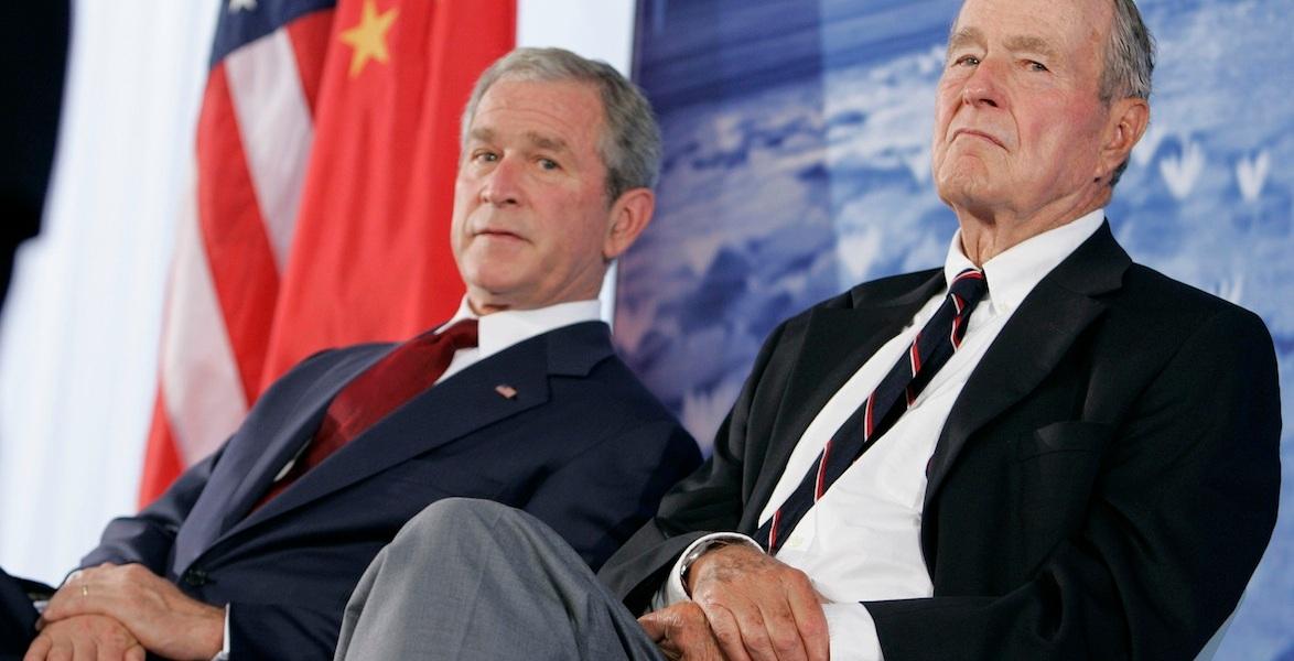 E sul Medio Oriente i due Bush litigano tra loro